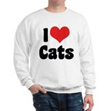 I Love Cats 2 Sweatshirt