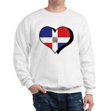 Cute I love dominican republic Sweatshirt