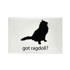 Got ragdoll? Rectangle Magnet
