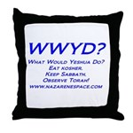 WWYD Throw Pillow