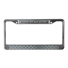 Soldier of God License Plate Frame
