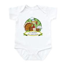 Thanksgiving Vegetarians Infant Bodysuit