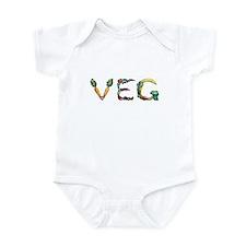 """Infant """"Veg"""" Bodysuit"""