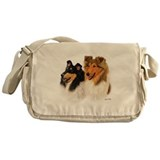 Rough Collie Messenger Bag