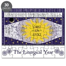 "16"" x 20"" The Liturgical Year Poster"
