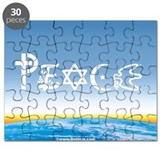 Peace On Earth at Sunrise Puzzle