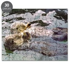 Sea Otter Love Puzzle