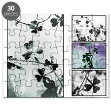 Shamrock Collage Puzzle