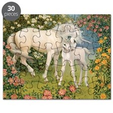 UNICORN MARE AND FOAL Puzzle