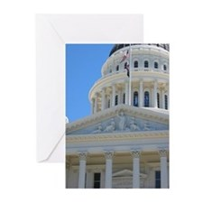 California Capital Building Greeting Cards (Packag