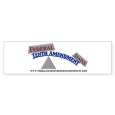 Balanced Government (Bumper Sticker)