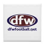 Dfwfootball Merchandise Tile Coaster