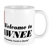 Welcome to Pawnee Small Mug