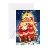 Greeting Cards (Pk of 10) Santa Claus