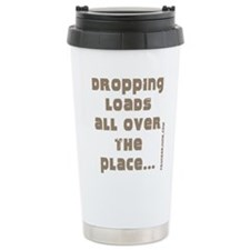 Dropping Loads All Over The P Ceramic Travel Mug