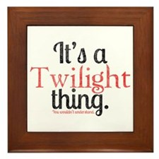 Twilight Thing 2 Framed Tile