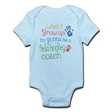 Kids Future Field Hockey Coach Infant Bodysuit