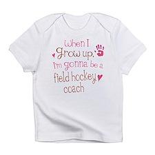 Kids Future Field Hockey Coach Infant T-Shirt