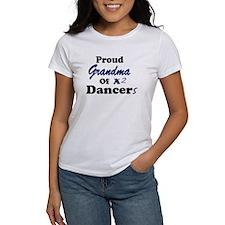 Grandma of 2 Dancers Tee