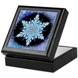 August Snowflake Keepsake Box