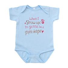 Kids Future Graphic Designer Infant Bodysuit