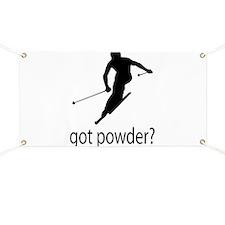 got powder? Banner
