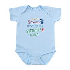 Kids Future Gymnastics Coach Infant Bodysuit