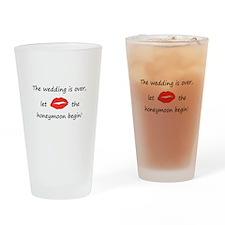 Wedding Over Honeymoon Begins Drinking Glass