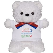 Kids Future Historian Teddy Bear