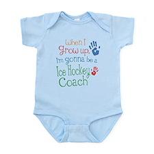 Kids Future Ice Hockey Coach Infant Bodysuit
