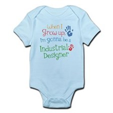 Kids Future Industrial Designer Onesie