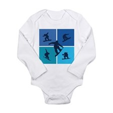 Nice various snowboarding Long Sleeve Infant Bodys