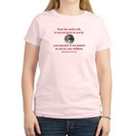 NATIVE AMERICAN PROVERB Women's Light T-Shirt