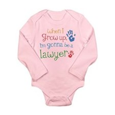 Kids Future Lawyer Long Sleeve Infant Bodysuit