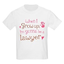 Kids Future Lawyer T-Shirt