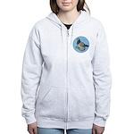 Frillback Pigeon Grizzle Women's Zip Hoodie