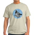 Frillback Pigeon Grizzle Light T-Shirt