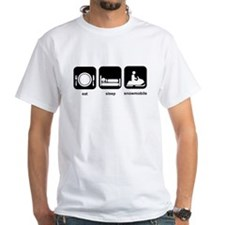 Eat Sleep Snowmobile Shirt