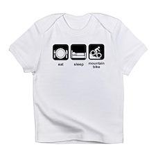 Eat Sleep Mountain Bike Infant T-Shirt