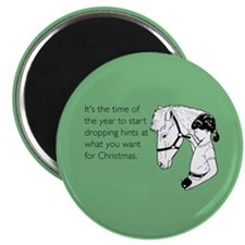 Dropping Christmas Hints Magnet