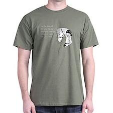 Dropping Christmas Hints Dark T-Shirt