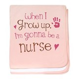 Kids Future Nurse baby blanket