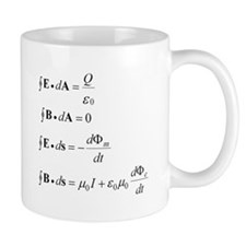 Maxwell's Equations Mug