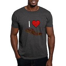 Worn, I Love Bacon T-Shirt