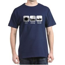 Eat Sleep Boat T-Shirt