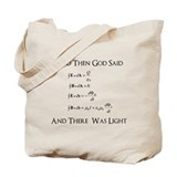And God Said... Funny Tote Bag