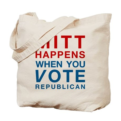 Mitt Happens Tote Bag