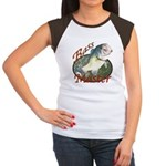 Bass master Women's Cap Sleeve T-Shirt
