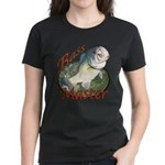Bass master Women's Dark T-Shirt