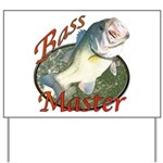 Bass master Yard Sign